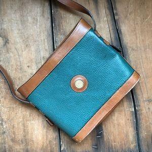 Handbags - Vintage Colombian Leather Brown Tote Bag